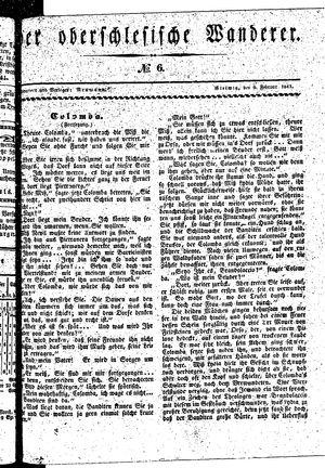 ˜Derœ Oberschlesische Wanderer vom 09.02.1841