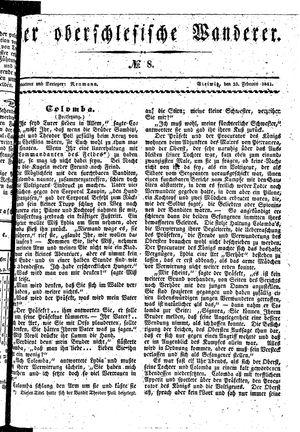 ˜Derœ Oberschlesische Wanderer vom 23.02.1841