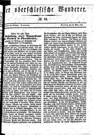 ˜Derœ Oberschlesische Wanderer vom 23.03.1841