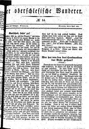 ˜Derœ Oberschlesische Wanderer vom 06.04.1841