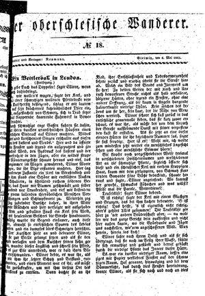 ˜Derœ Oberschlesische Wanderer vom 04.05.1841