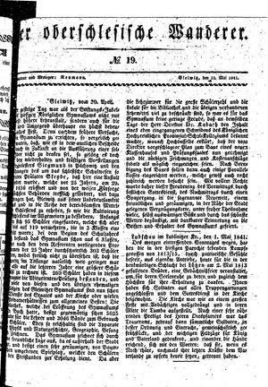 ˜Derœ Oberschlesische Wanderer vom 11.05.1841