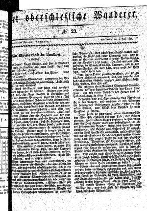 ˜Derœ Oberschlesische Wanderer vom 08.06.1841