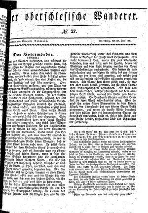 ˜Derœ Oberschlesische Wanderer vom 29.06.1841