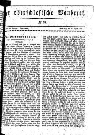 ˜Derœ Oberschlesische Wanderer vom 17.08.1841