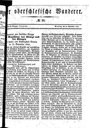 ˜Derœ Oberschlesische Wanderer on Sep 14, 1841