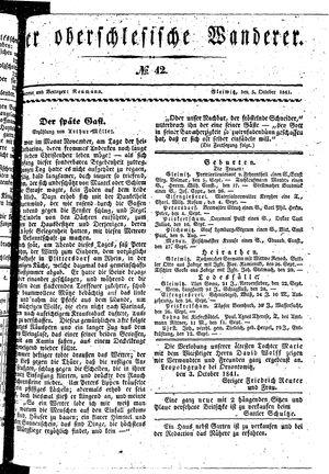 ˜Derœ Oberschlesische Wanderer vom 05.10.1841
