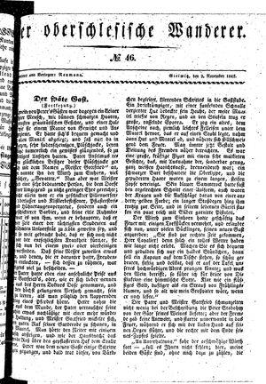 ˜Derœ Oberschlesische Wanderer vom 02.11.1841