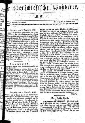 ˜Derœ Oberschlesische Wanderer vom 09.11.1841
