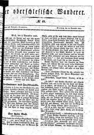 ˜Derœ Oberschlesische Wanderer on Nov 16, 1841