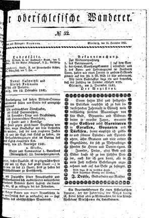 ˜Derœ Oberschlesische Wanderer vom 14.12.1841