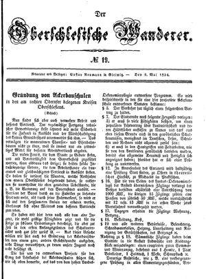˜Derœ Oberschlesische Wanderer vom 09.05.1854