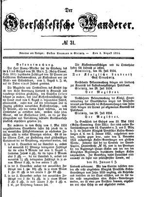 ˜Derœ Oberschlesische Wanderer on Aug 1, 1854