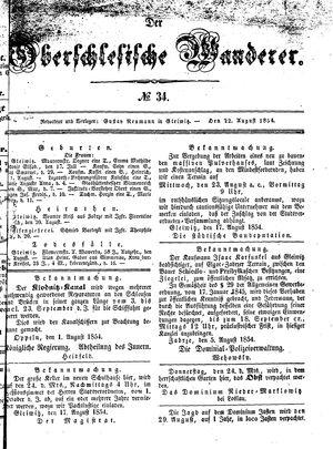 ˜Derœ Oberschlesische Wanderer on Aug 22, 1854