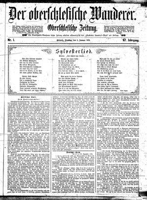 ˜Derœ Oberschlesische Wanderer vom 01.01.1895