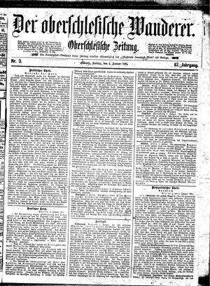 ˜Derœ Oberschlesische Wanderer vom 04.01.1895