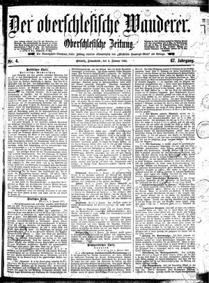 ˜Derœ Oberschlesische Wanderer vom 05.01.1895