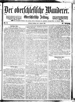 ˜Derœ Oberschlesische Wanderer vom 08.01.1895