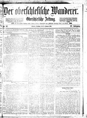 ˜Derœ Oberschlesische Wanderer vom 15.01.1895
