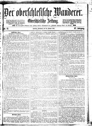 ˜Derœ Oberschlesische Wanderer vom 16.01.1895