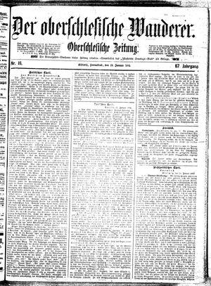 ˜Derœ Oberschlesische Wanderer vom 19.01.1895