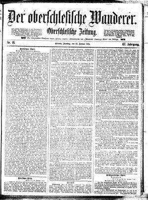˜Derœ Oberschlesische Wanderer vom 22.01.1895