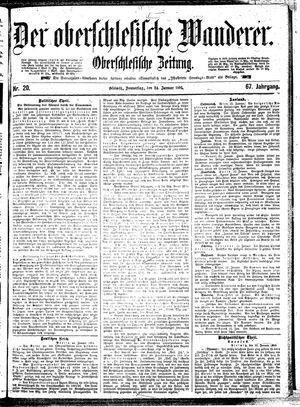 ˜Derœ Oberschlesische Wanderer vom 24.01.1895
