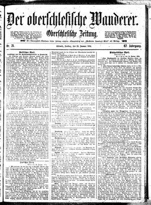 ˜Derœ Oberschlesische Wanderer vom 25.01.1895