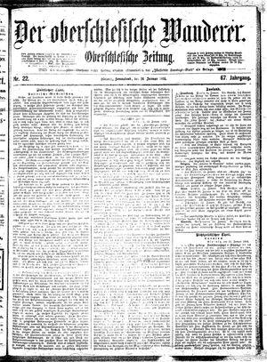 ˜Derœ Oberschlesische Wanderer vom 26.01.1895