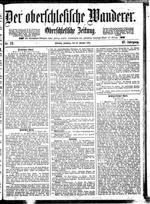 ˜Derœ Oberschlesische Wanderer vom 27.01.1895