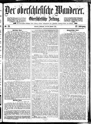 ˜Derœ Oberschlesische Wanderer vom 30.01.1895