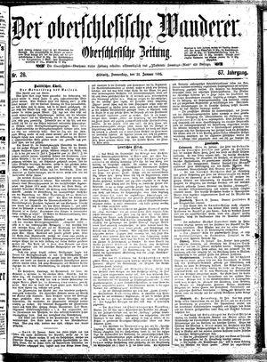 ˜Derœ Oberschlesische Wanderer vom 31.01.1895