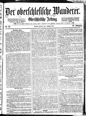 ˜Derœ Oberschlesische Wanderer vom 01.02.1895