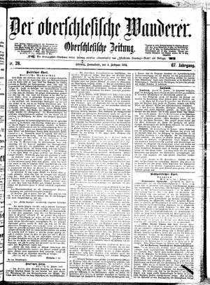 ˜Derœ Oberschlesische Wanderer vom 02.02.1895