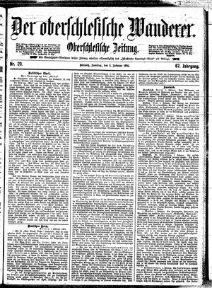 ˜Derœ Oberschlesische Wanderer vom 03.02.1895