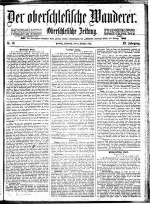 ˜Derœ Oberschlesische Wanderer vom 06.02.1895