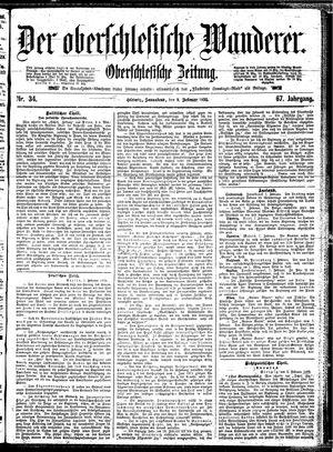 ˜Derœ Oberschlesische Wanderer vom 09.02.1895