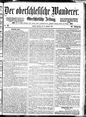 ˜Derœ Oberschlesische Wanderer vom 10.02.1895