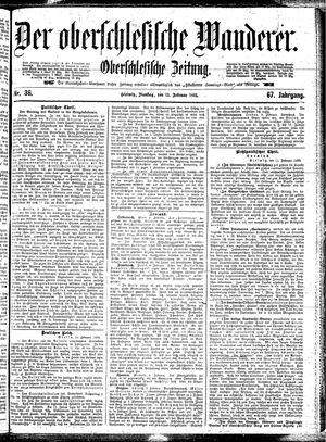 ˜Derœ Oberschlesische Wanderer vom 12.02.1895