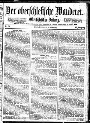 ˜Derœ Oberschlesische Wanderer vom 14.02.1895