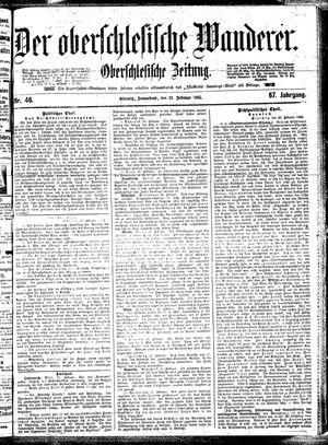 ˜Derœ Oberschlesische Wanderer vom 23.02.1895