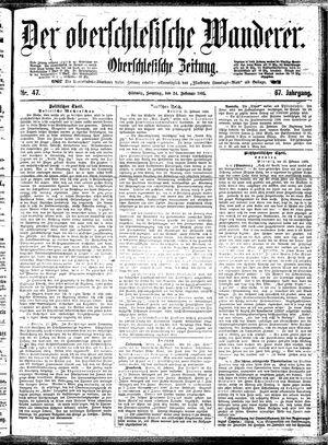 ˜Derœ Oberschlesische Wanderer on Feb 24, 1895