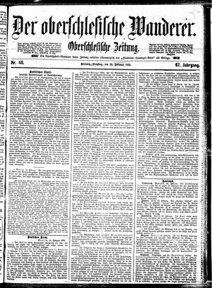 ˜Derœ Oberschlesische Wanderer vom 26.02.1895