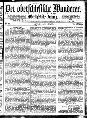 ˜Derœ Oberschlesische Wanderer vom 03.03.1895