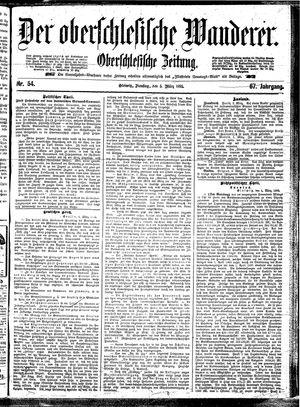 ˜Derœ Oberschlesische Wanderer vom 05.03.1895