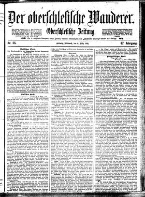 ˜Derœ Oberschlesische Wanderer vom 06.03.1895