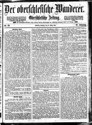 ˜Derœ Oberschlesische Wanderer vom 10.03.1895