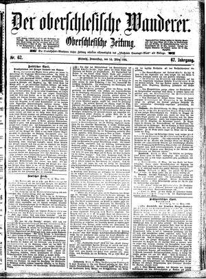 ˜Derœ Oberschlesische Wanderer vom 14.03.1895
