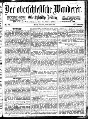 ˜Derœ Oberschlesische Wanderer vom 23.03.1895