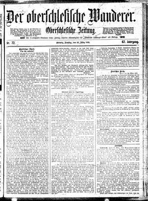 ˜Derœ Oberschlesische Wanderer vom 26.03.1895
